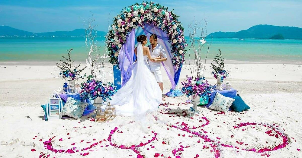 Theme Sea Wedding Dubai