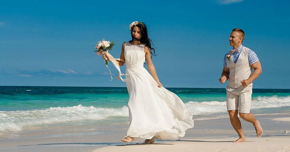 Symbolic Wedding Abroad