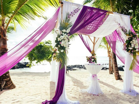 Роскошная свадьба за границей для двоих - организация свадебного торжества