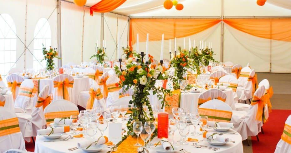 Тематическая Мандариновая Свадьба