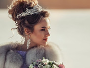 Winter wedding hairstyles ideas