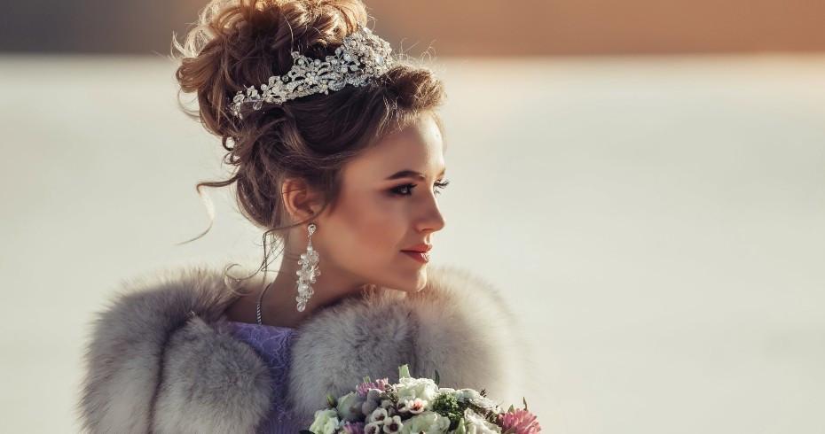 Winter Wedding Hairstyles Ideas