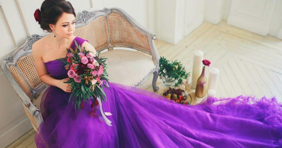 Модные И Необычные Цвета Современных Свадебных Платьев