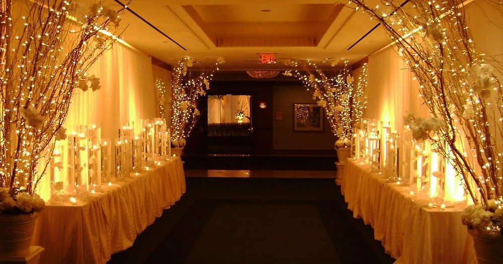 Stunning Wedding Venue Decorations