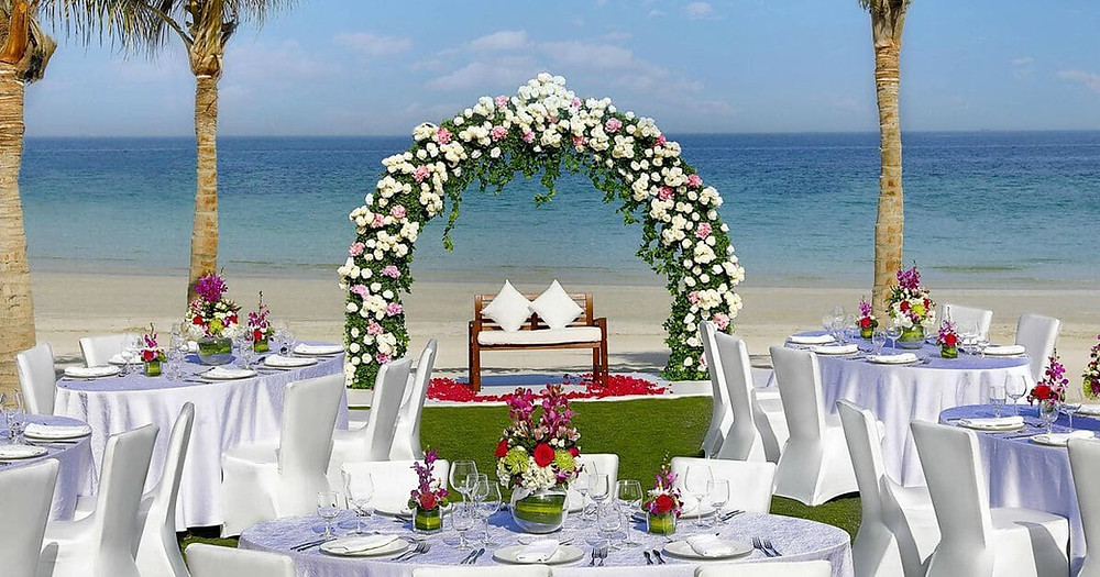 Budget Beach Wedding Ceremony Dubai