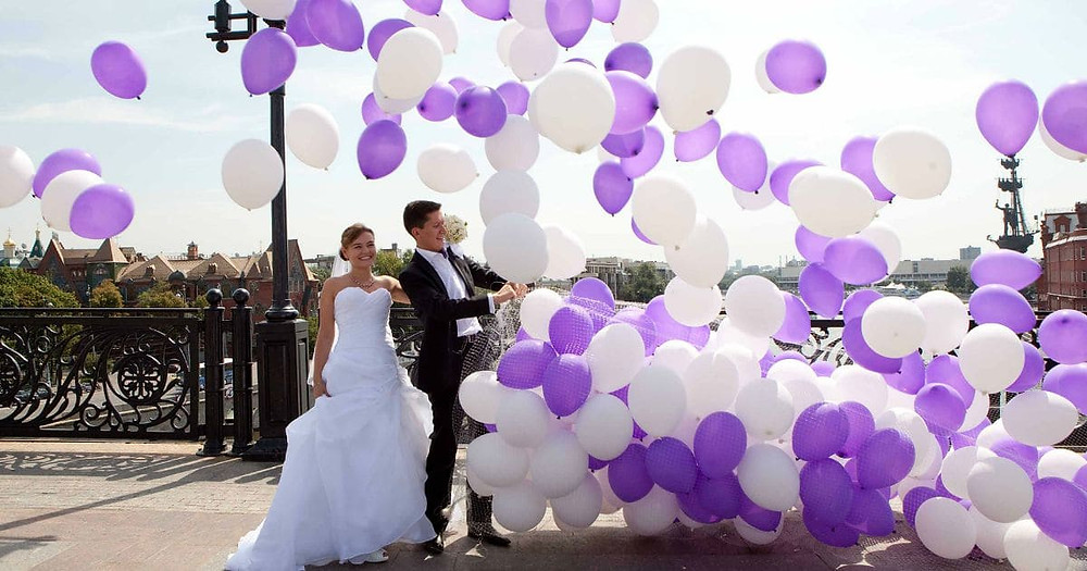 Spectacular Balloon Wedding  Decorations