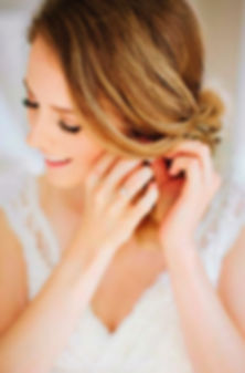 Stunning Wedding Hairstyle Dubai