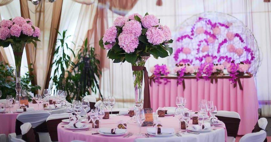 Цветочная Тематическая Свадьба