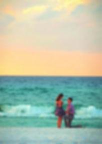 Romantic Marriage Proposal On The Beach Jumeirah Dubai