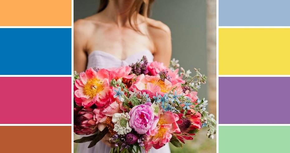 Цветовая Гамма Для Летней Свадьбы - Актуальные Сочетания