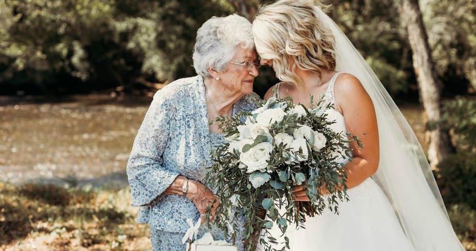 Пожилые Гости На Свадьбе