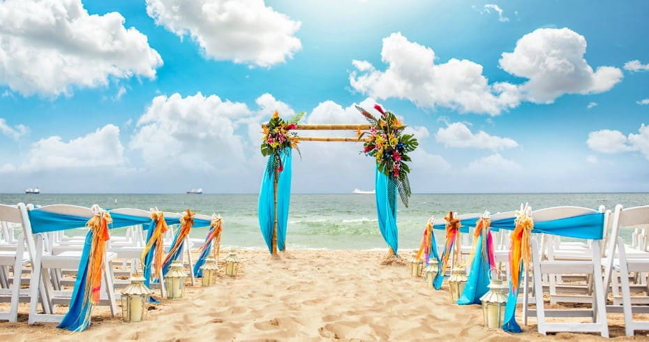 Летняя Свадьба Дубай