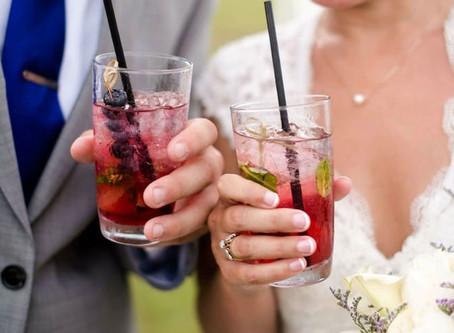 Новые тренды напитков на свадьбе