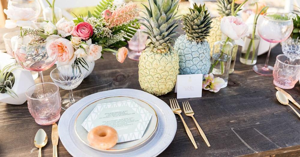 Tropical Themed Wedding Ideas