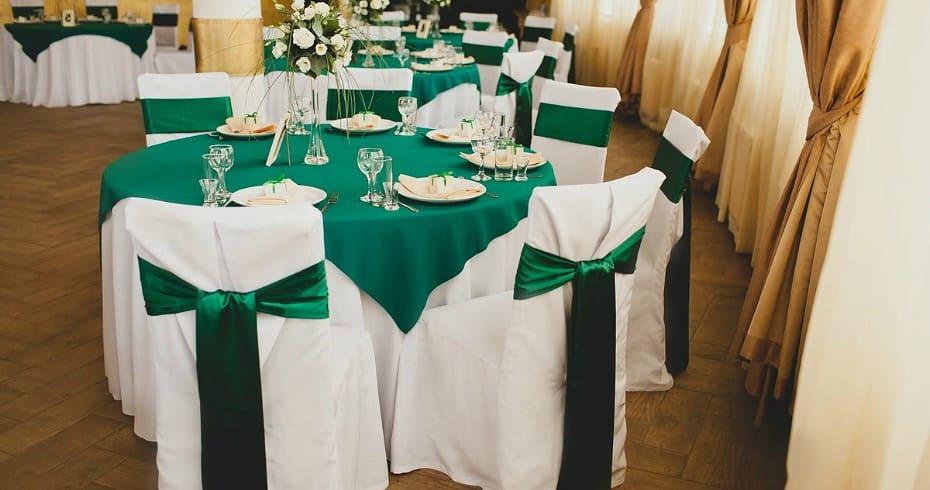 Роскошная Свадьба В Изумрудном Цвете