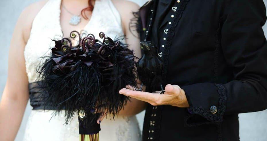 Элегантная Свадьба В Готическом Стиле