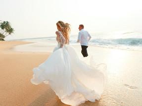 Свадьба на побережье ОАЭ - восточная сказка для двоих