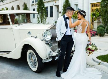 Организация свадьбы в стиле ретро