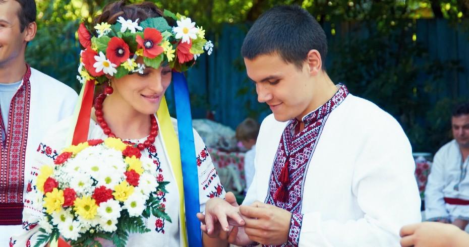 Традиции Украинской Свадьбы