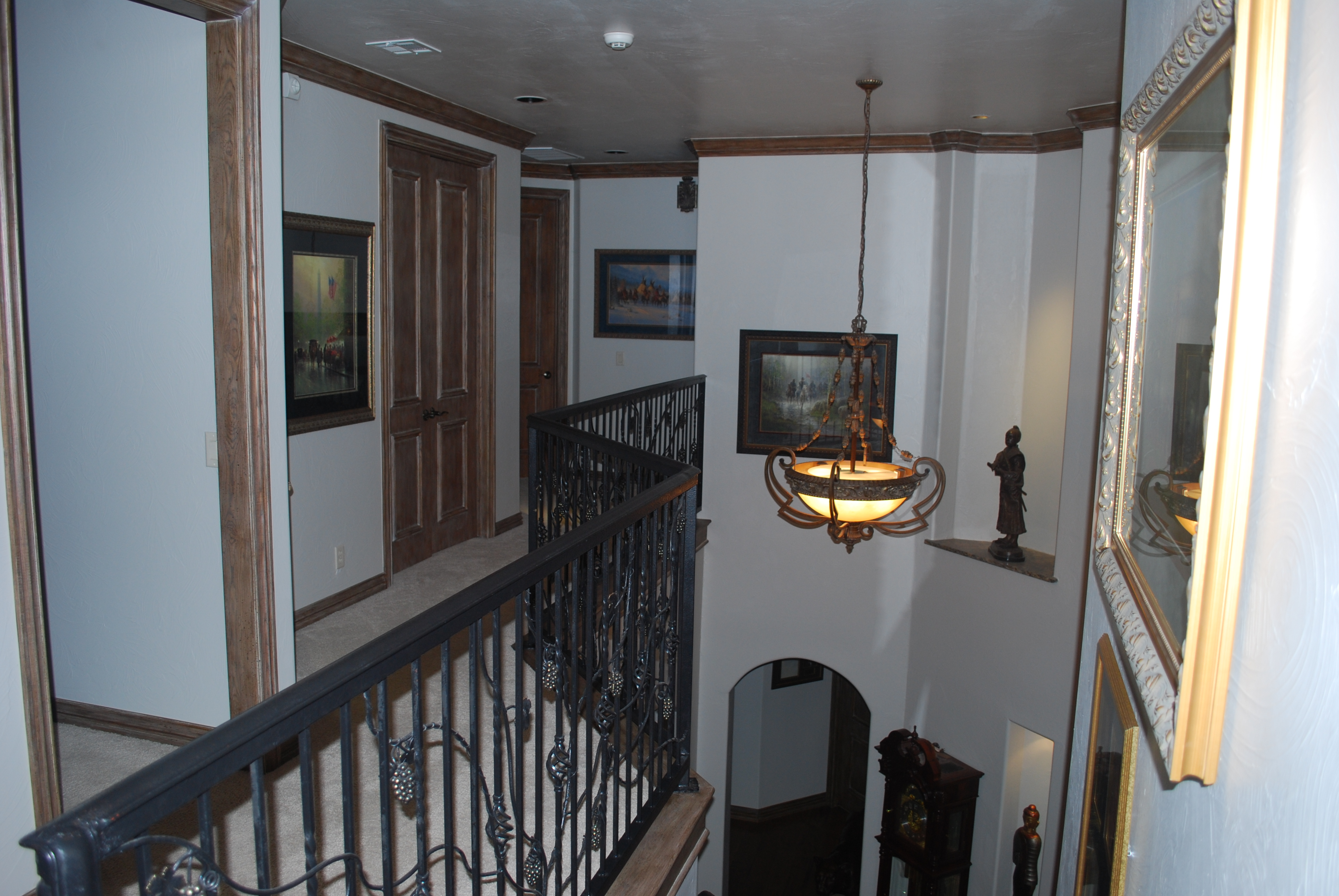 Upstairs Walkway