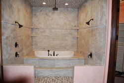 The Castle Cabana Bathing Room