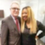 Me and the Mayor of Pickering. David Rya