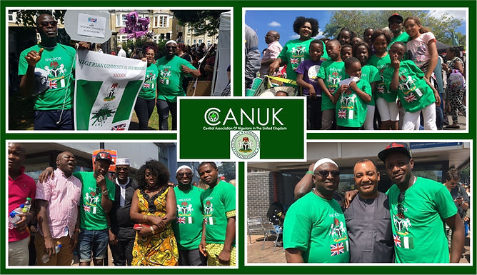 CANUK Celebrates With The Nigerian Community Oxfordshire At The Cowley Road Carnival.