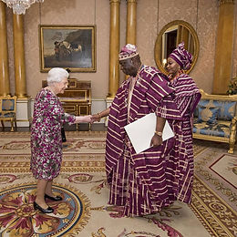 Nigeria High Commissioner presents credentials to The Queen