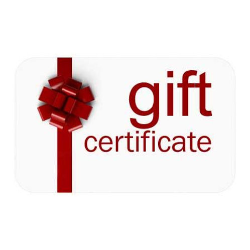 60 Minute Gift Certificate