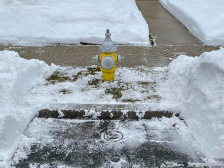 Please Keep Hydrant's Snow Free