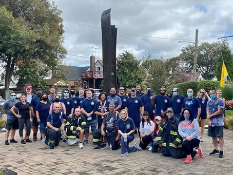 FSMFD Members participated in a community run to show remembrance of those lost on 9/11