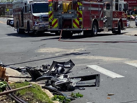 FSMFD operates at a motor vehicle accident 5/27/20