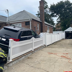 FSMFD Rescue responded first due for a reported car into a house on Commonwealth street.