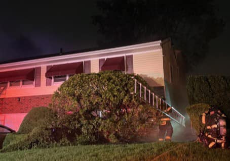 FSMFD Members Responded to a Mutual Aid Fire in Garden City