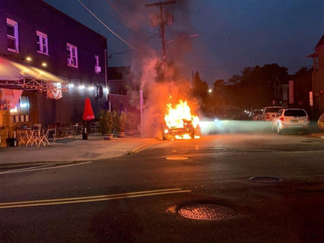 FSMFD Respond to a Vehicle Fire