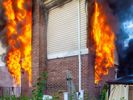 FSMFD Mutual Aid to Malverne Fire Department. at the scene of a fire in a private dwelling 8/12/20