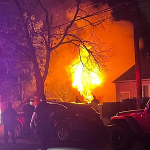 The FSMFD responded to a detached garage fire on the corner of Esther st & Scherer blvd tonight