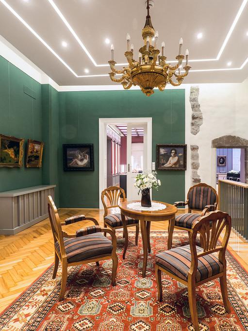 Vallásszabadság háza - az unitárius püspöki ház rekonstrukciója és belső tereinek kialakítása, Kolozsvár