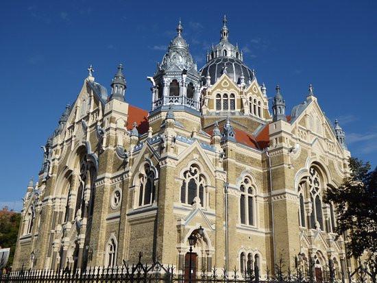 Nagyzsinagóga homlokzat- és biblikus kert rekonstrukció, Szeged