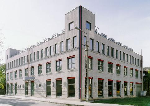 UTVASUT (OTP) irodaház, Újpest, Erzsébet utca
