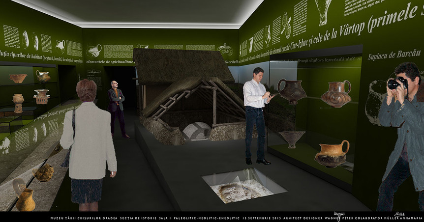 Körösvidéki Múzeum állandó kiállításai, Nagyvárad