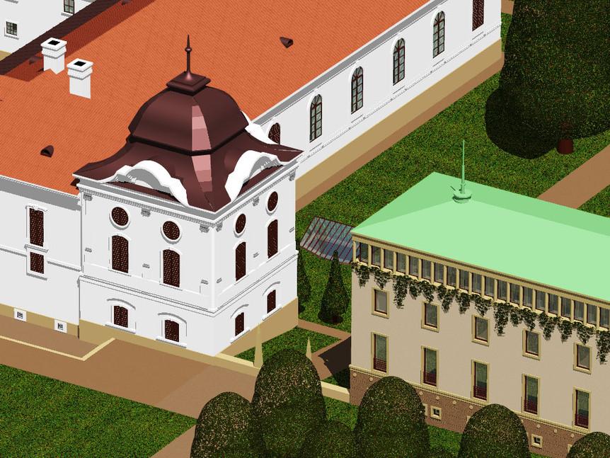 Kastélyszálló, Gödöllő, tervpályázat