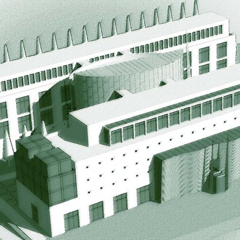 Városi könyvtár, Sopron tervpályázat