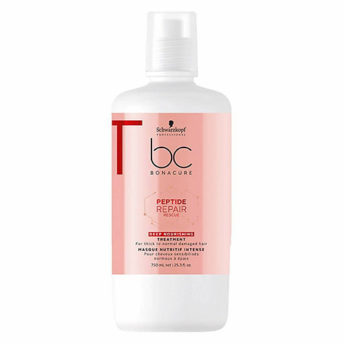 BONACURE PEPTIDE REPAIR RESCUE TRATAMIENTO 750 ML