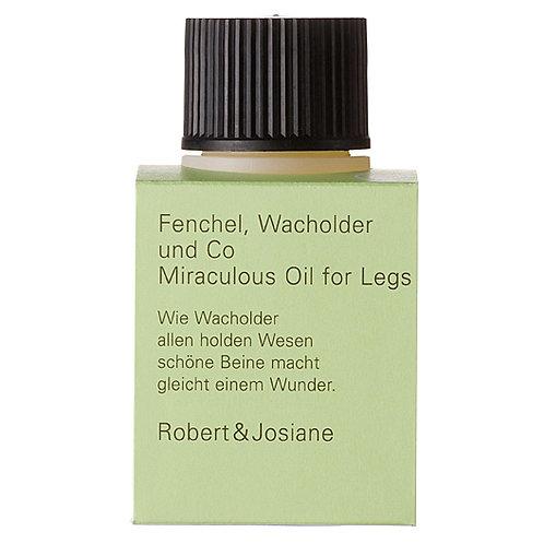 Fenchel, Wacholder & Co – Miraculous Oil for Legs