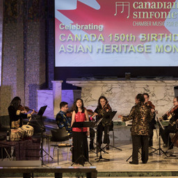 Celebrating Asian Heritage Month with Canadian Sinfonietta (May 27th, 2017)