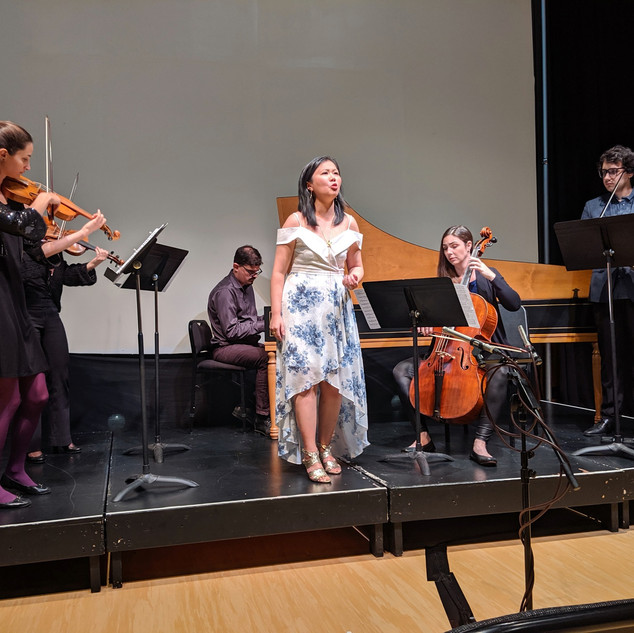 """Handel's Heroines""with Rezonance Baroque Ensemble"