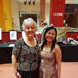 Catherine Robbin and Vania Chan