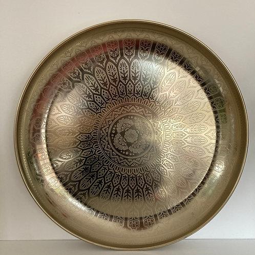 Mandala Etched Gold Dish 2 Sizes