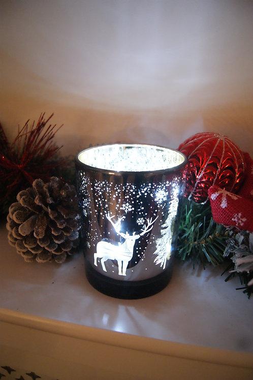 Woodland Scene Candle Holder